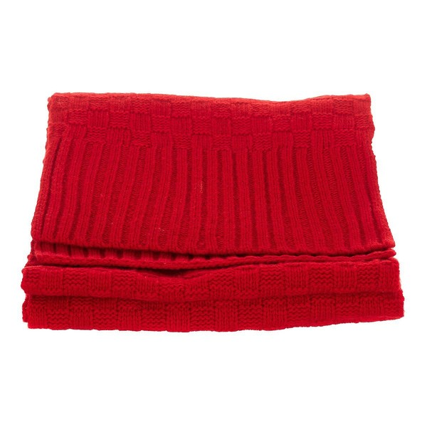 Pack gorro/bufanda hombre - rojo