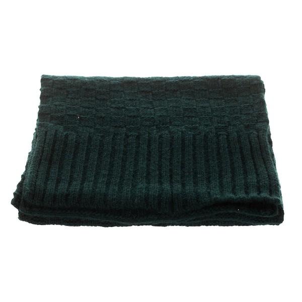 Pack gorro/bufanda hombre - verde