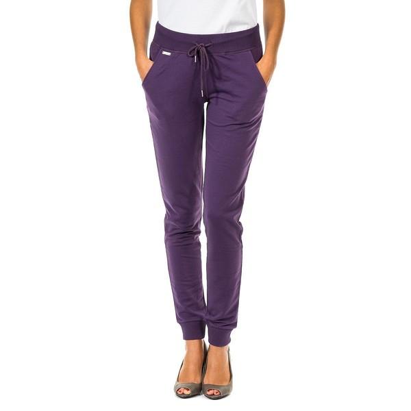 Pantalón deportivo mujer - violeta