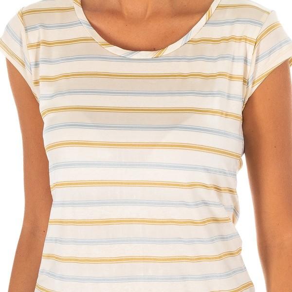 Camiseta m/corta mujer - crudo