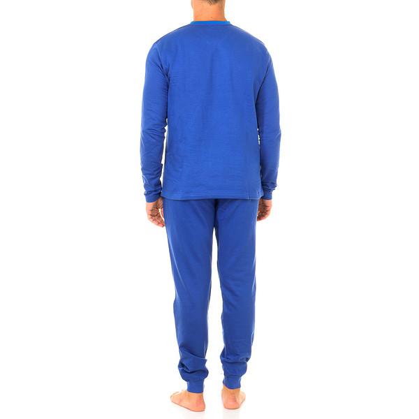Pijama m/larga hombre - azul oscuro