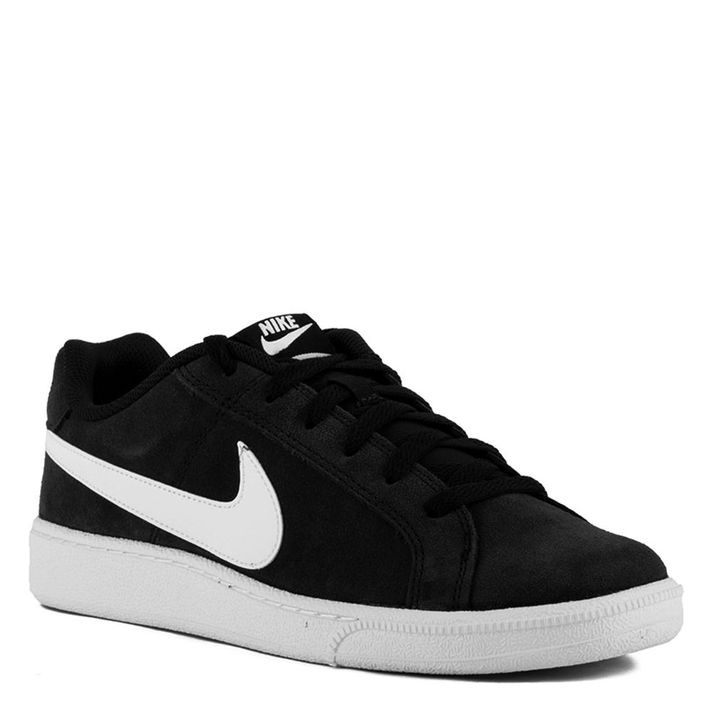 Sneaker ante hombre - negro/blanco