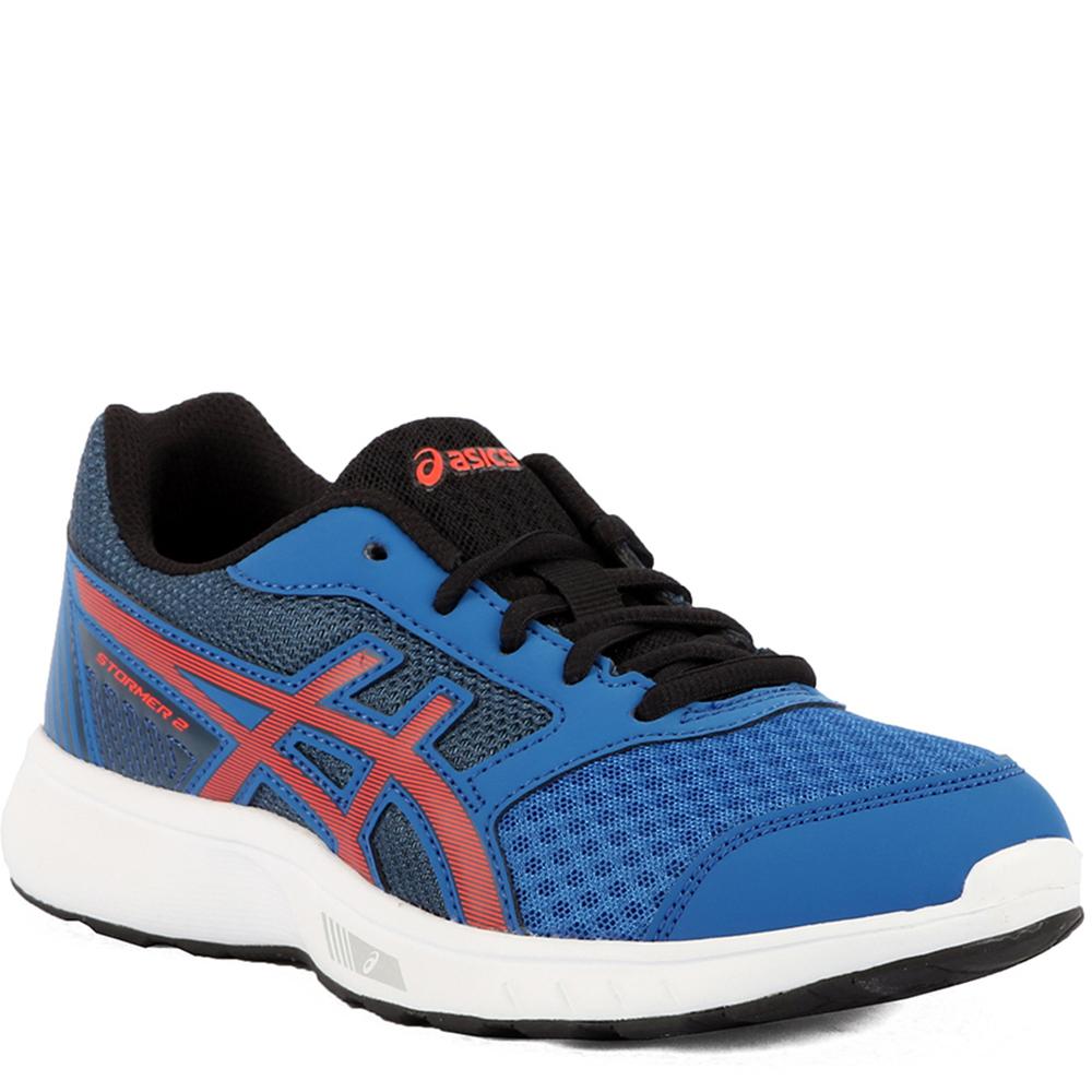 Zapatilla running Stormer 2 gs mujer - azul/rojo