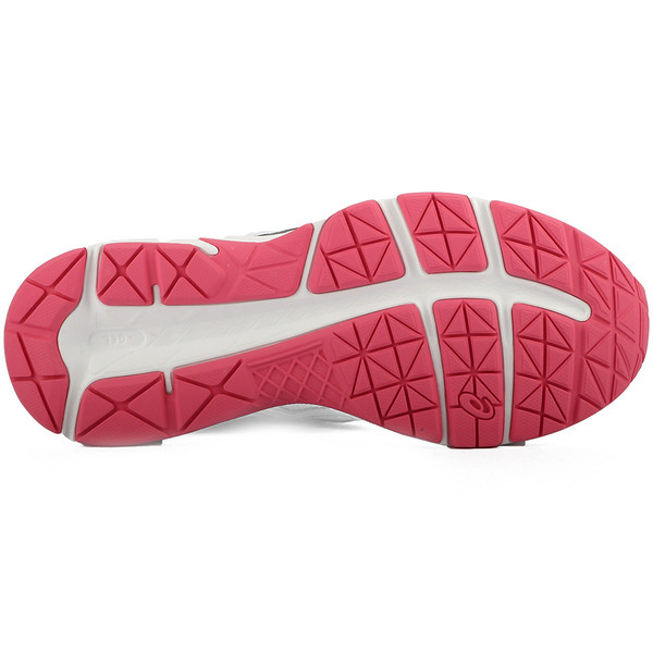 Zapatilla mujer running Gel Contend - gris/rosa