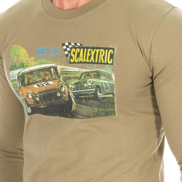 Camiseta m/larga hombre - caqui