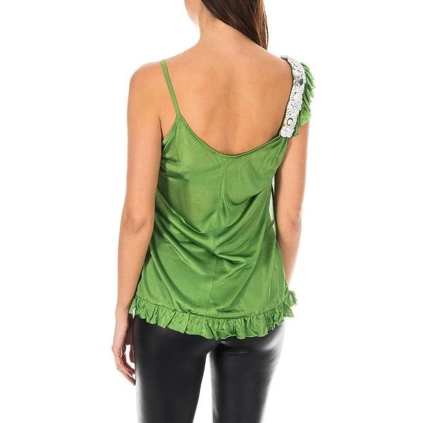 Top mujer - verde