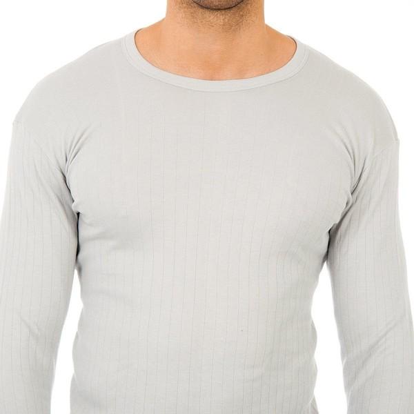 Pack-3 camisetas termica m/larga Gris 48