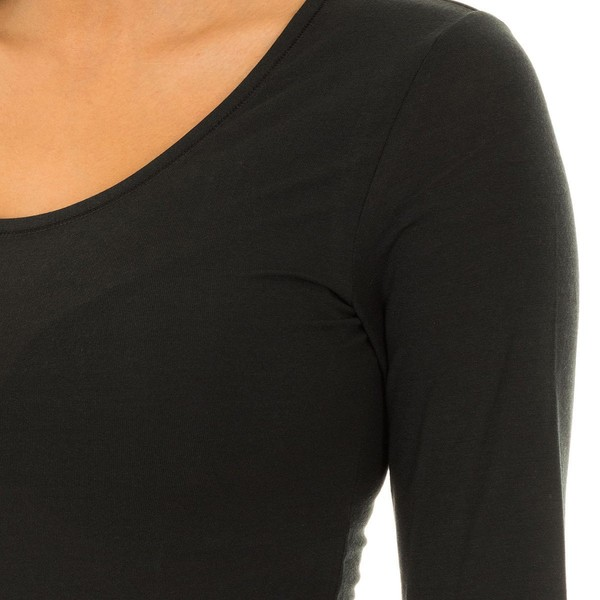Pack 3 Camisetas mujer - negro