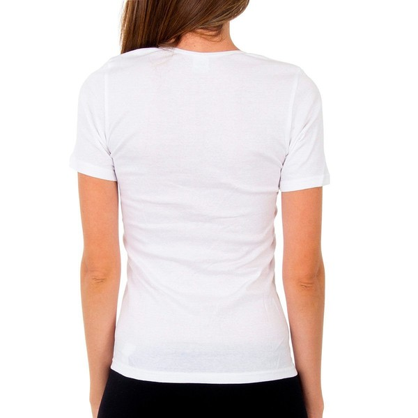 Pack 3 Camisetas mujer - blanco