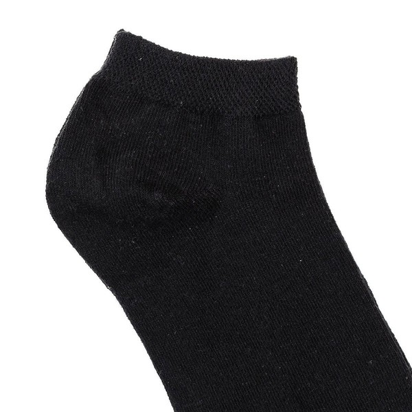 Pack 5 calcetines mujer - negro