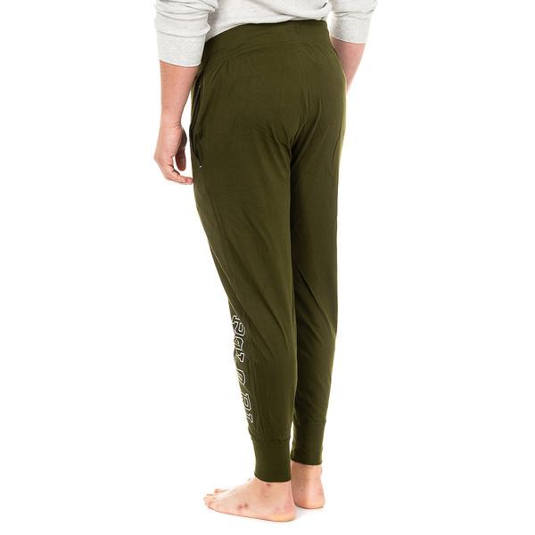 Pantalón largo de pijama hombre - verde