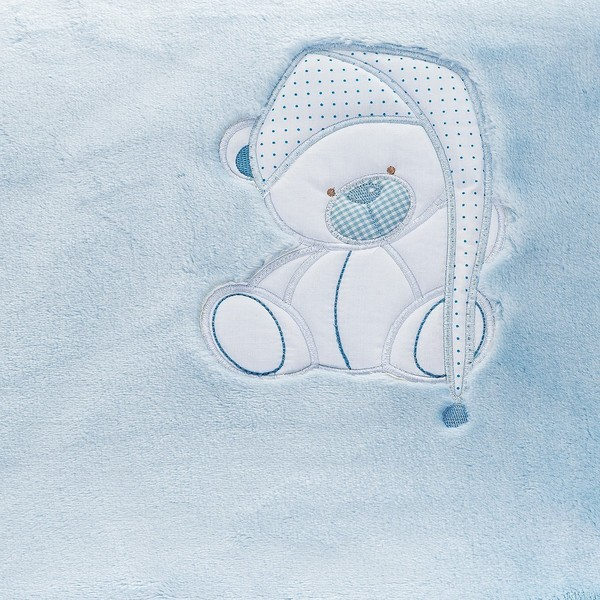 Manta bebé Le Petit Garçon BEBE - Azul