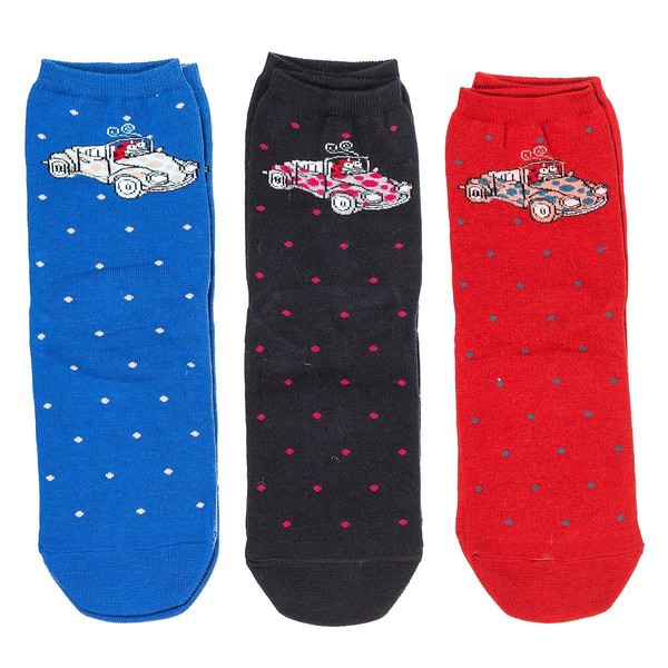 Pack 3 calcetines mujer - multicolor