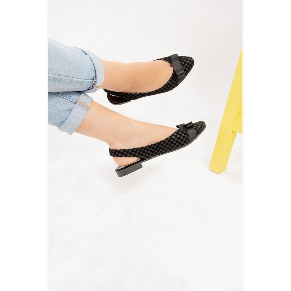 Manoletina mujer - negro