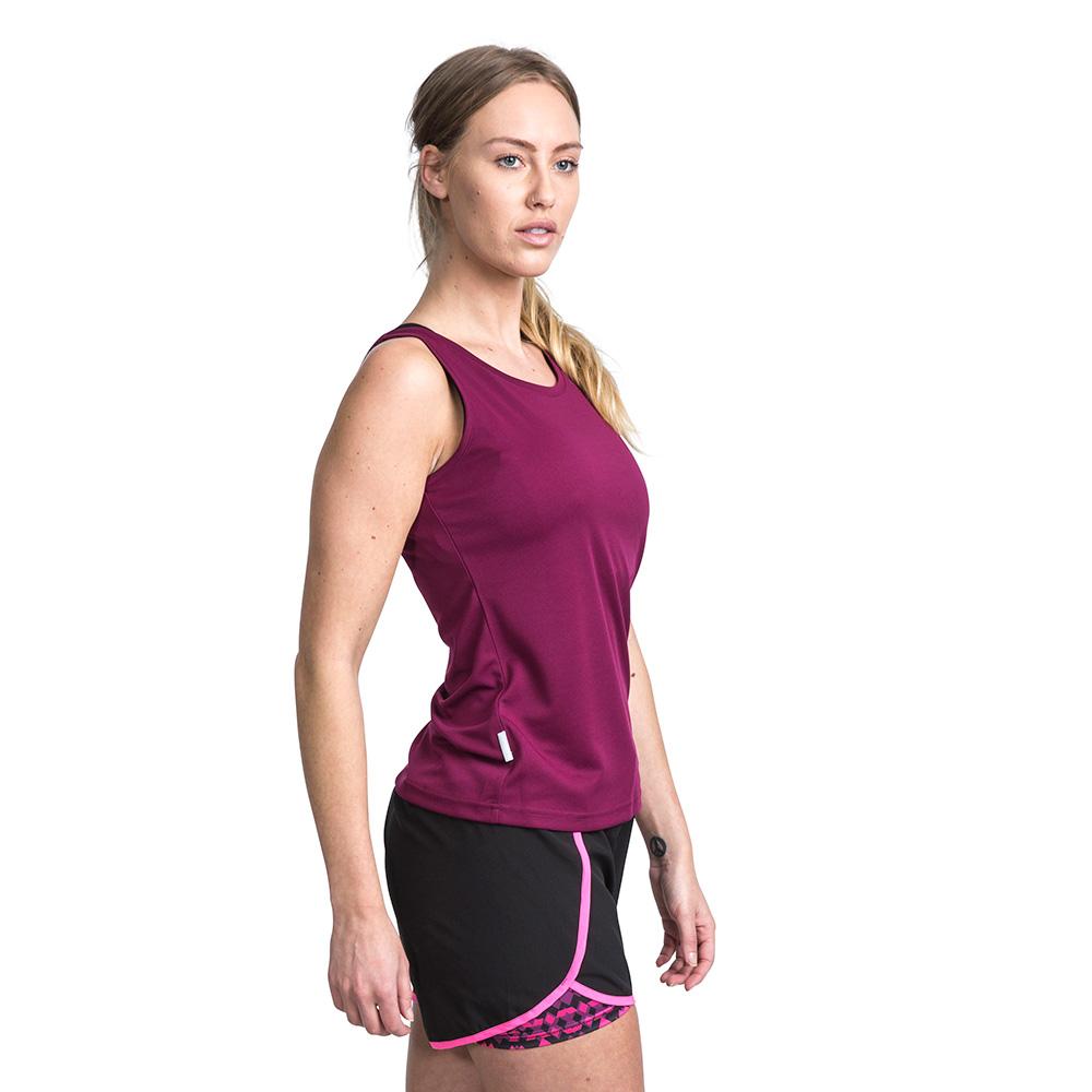 Camiseta tirantes mujer - vino