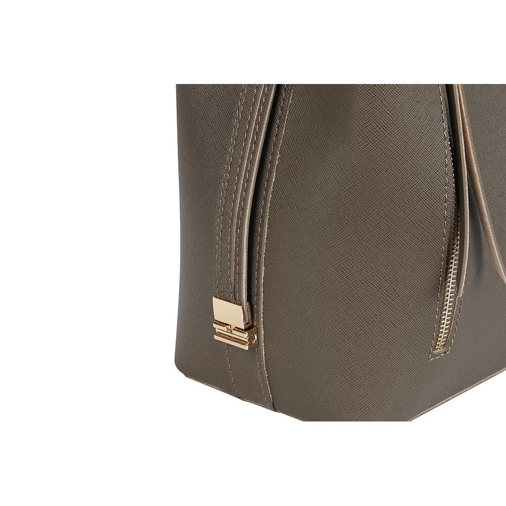 Bolso shoulder mujer - visón
