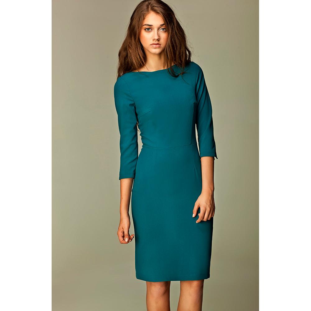Vestido mujer - verde aguamarina