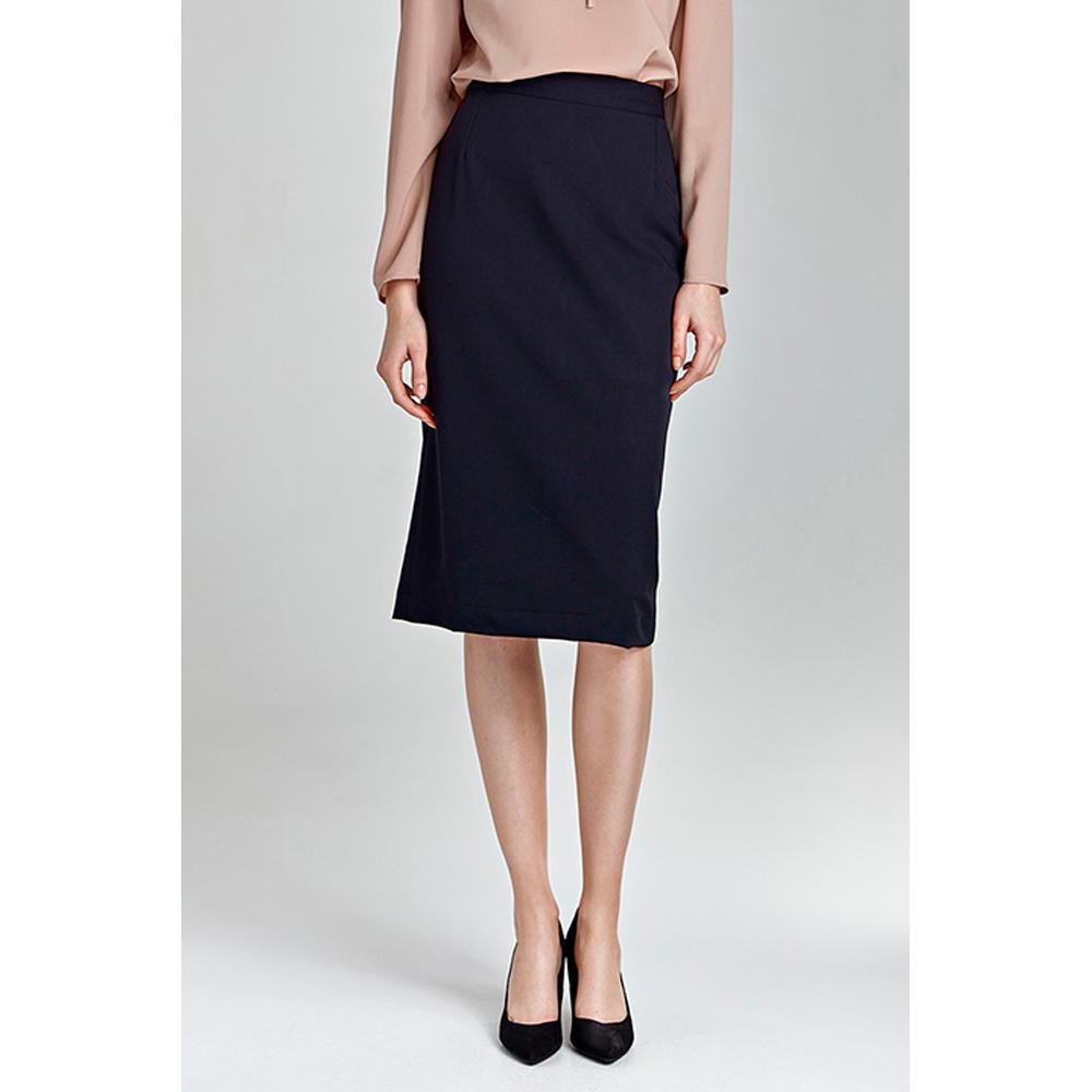 Falda mujer - azul marino