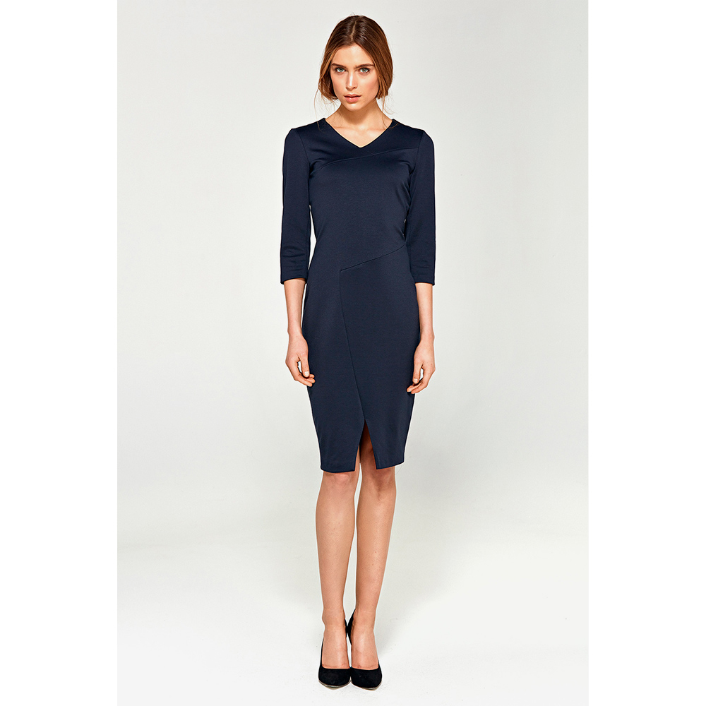 Vestido mujer - azul marino