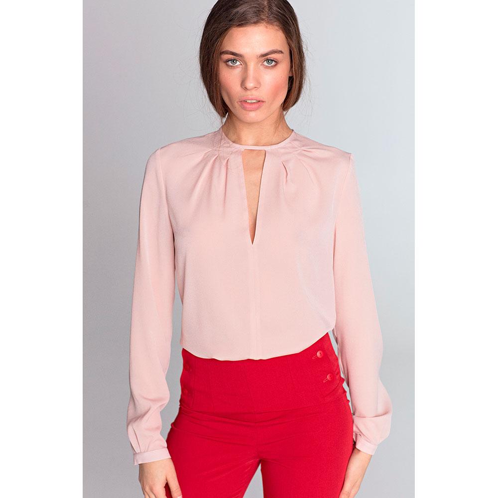 Blusa m/larga mujer - rosa