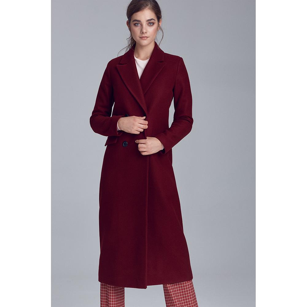 Abrigo mujer - burdeos