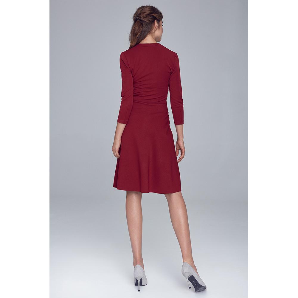 Vestido mujer - burdeos