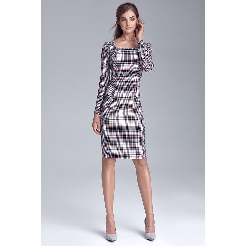 Vestido mujer - multicolor/cuadros