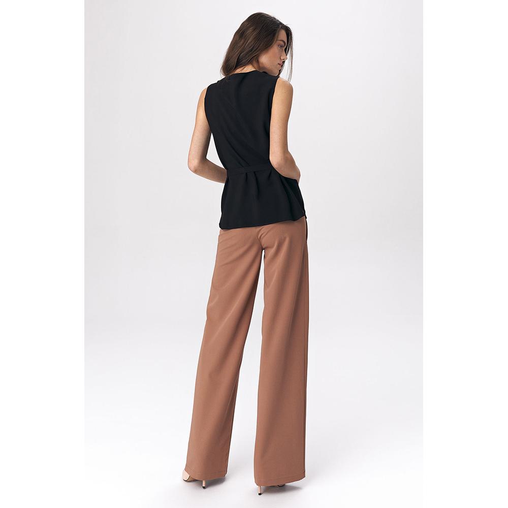 Blusa s/mangas mujer - negro