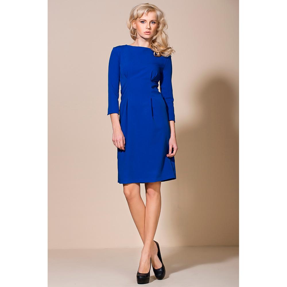 Vestido mujer 3/4 - azul