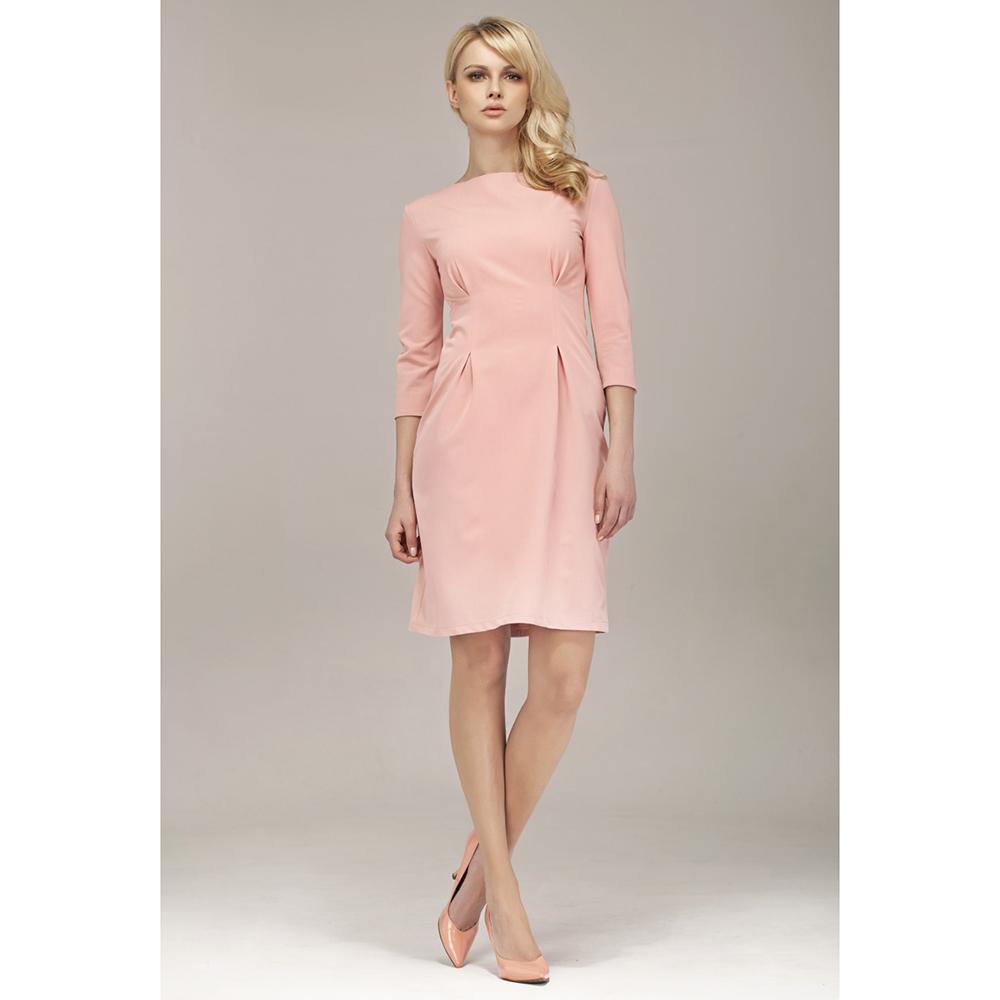 Vestido mujer 3/4 - rosa