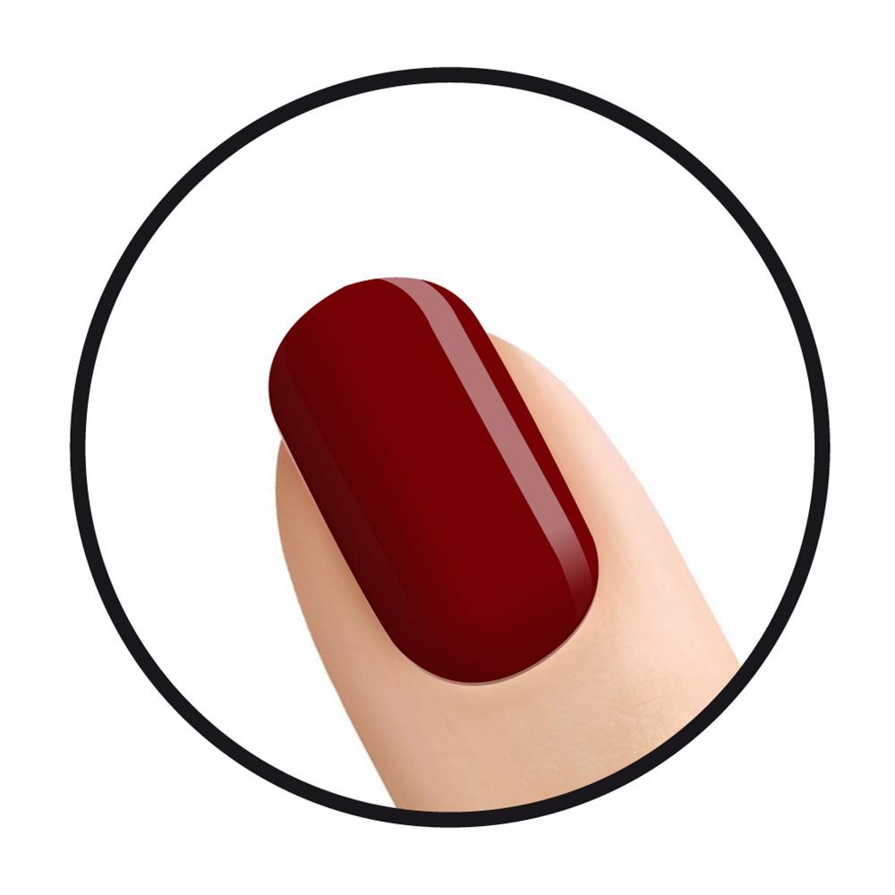Esmalte de uñas - rojo oscuro