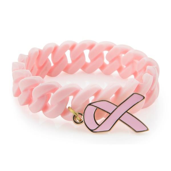 Brazalete silicona mujer - rosa
