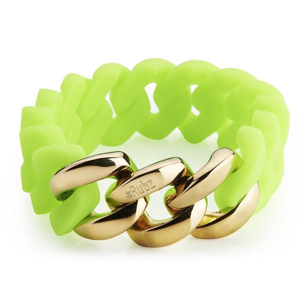 Pulsera mujer - verde/dorado