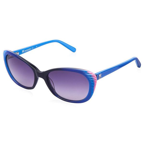 Gafas de sol mujer cal.54 acetato - azul