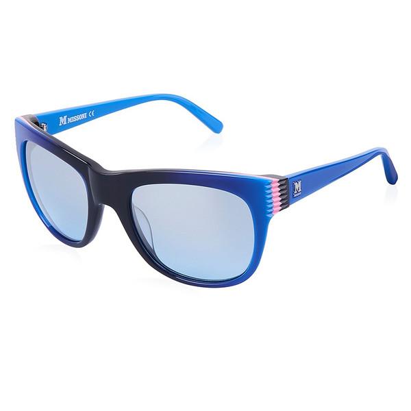 Gafas de sol mujer cal.53 acetato - azul