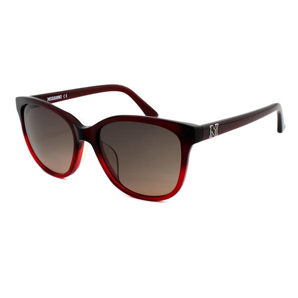 Gafas de sol mujer acetato - rojo