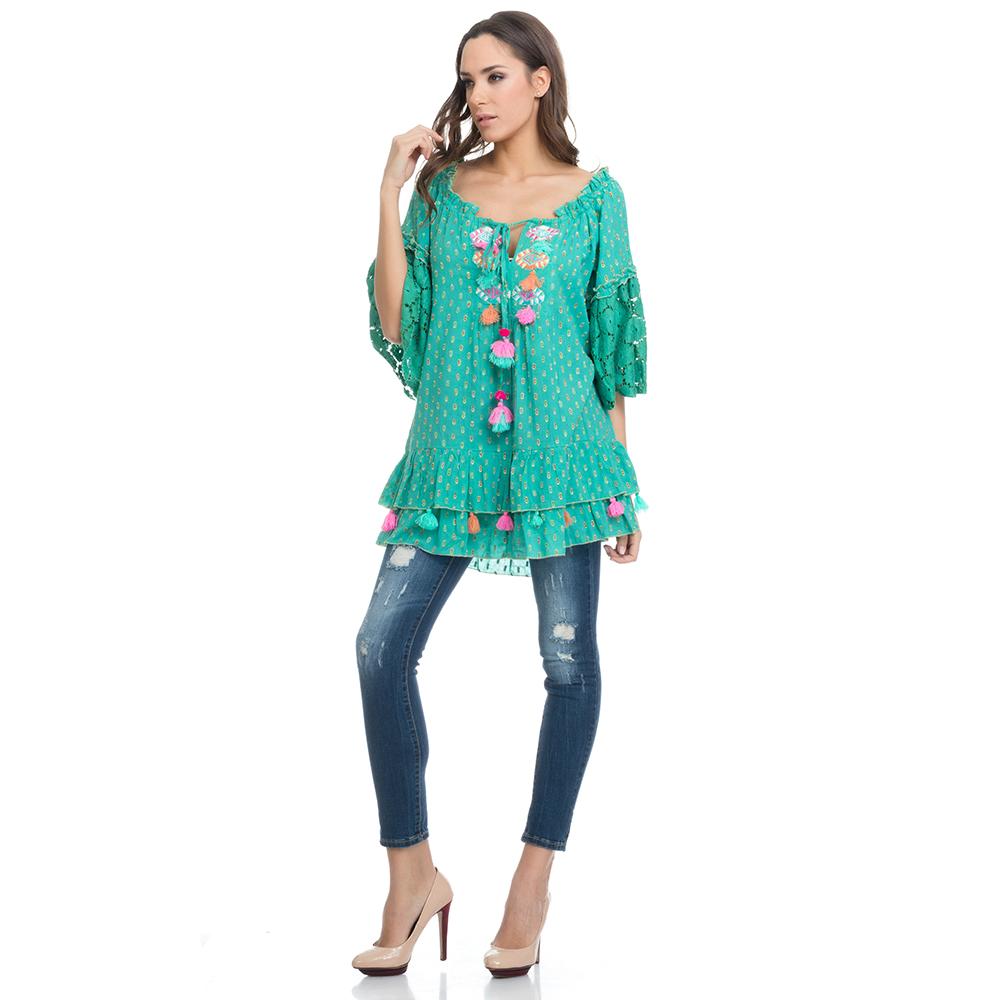 Camiseta mujer - verde