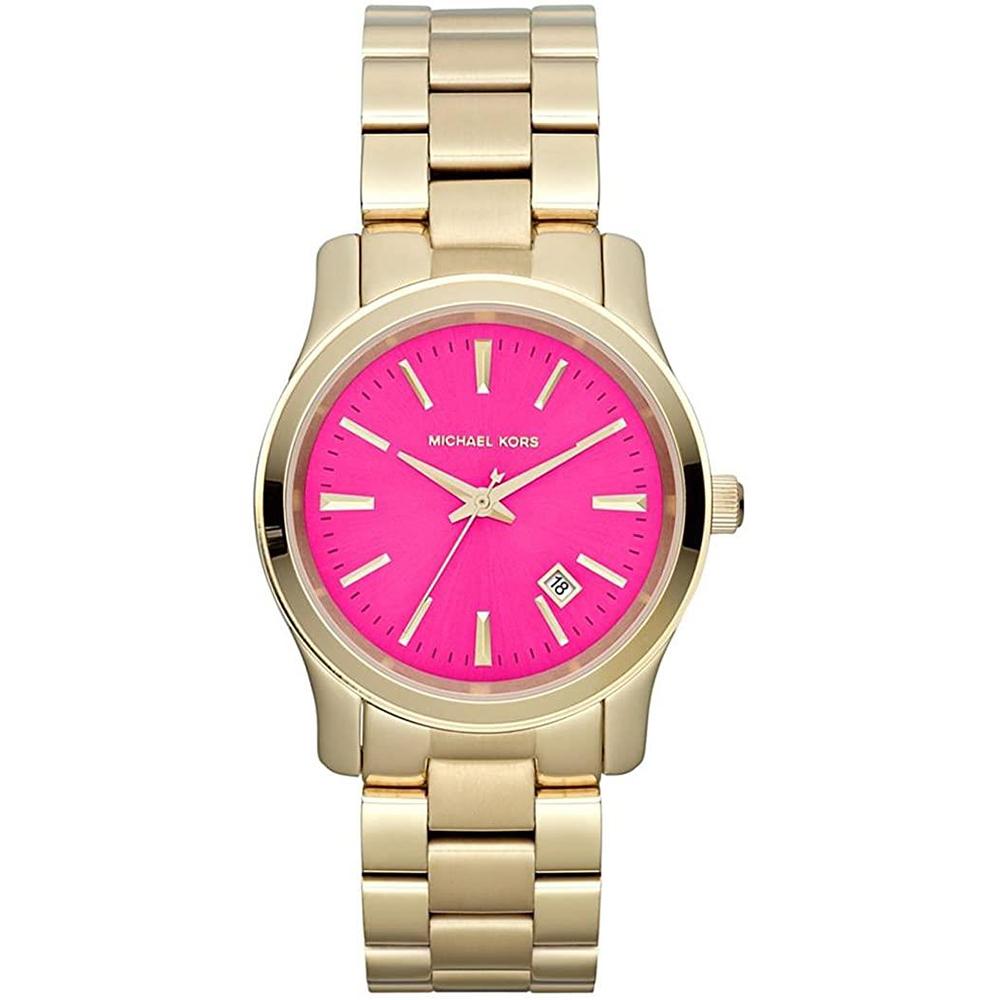 Reloj analógico acero - dorado
