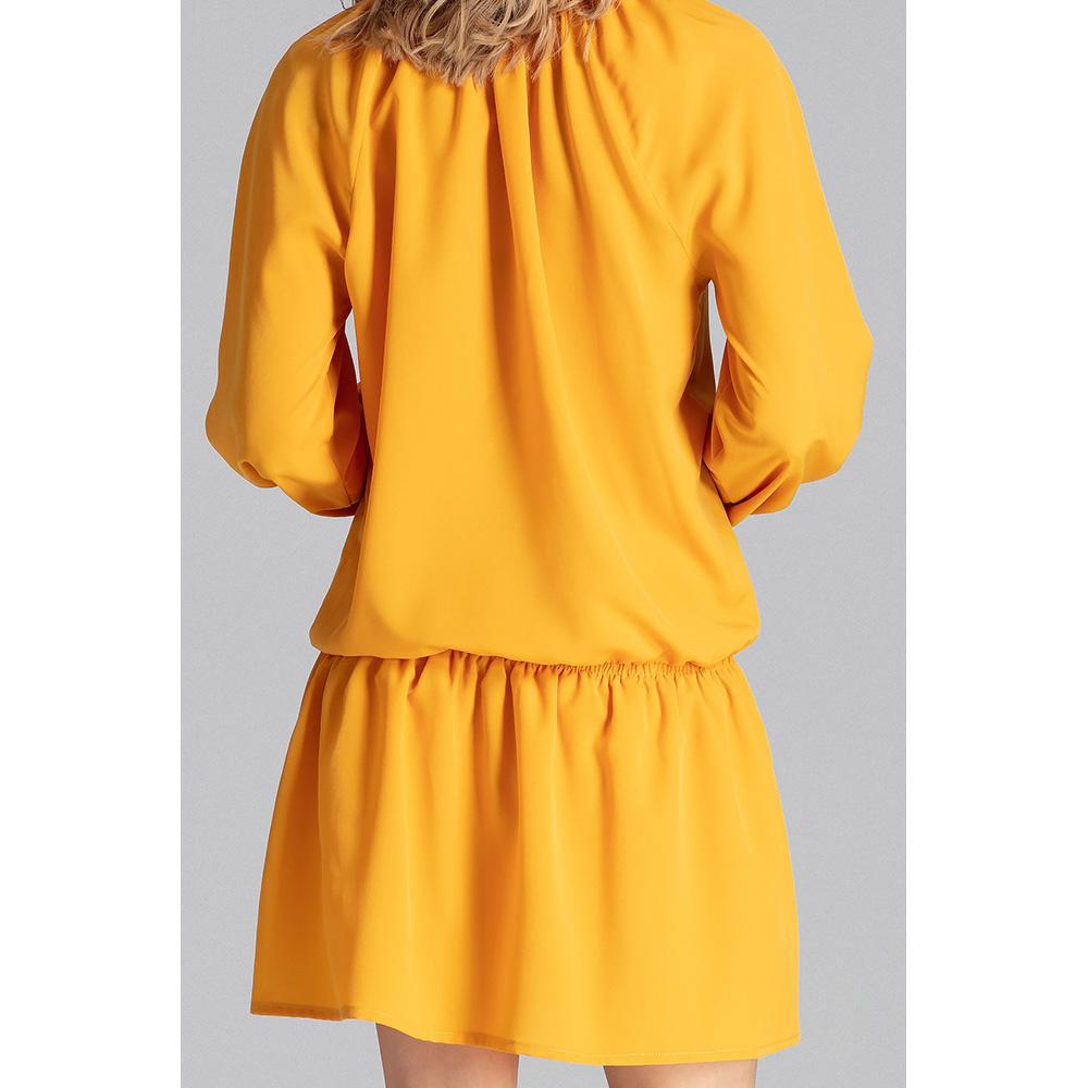 Vestido mujer - mostaza