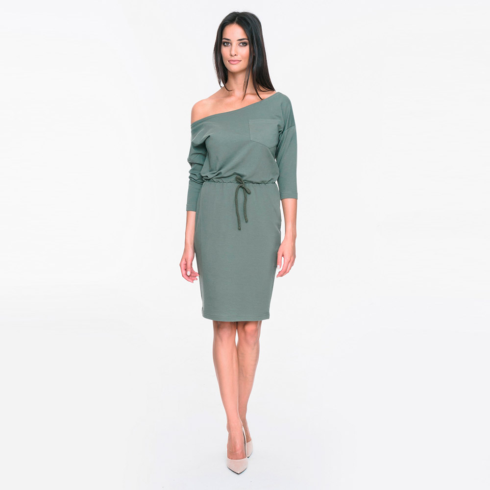 Vestido mujer - caqui
