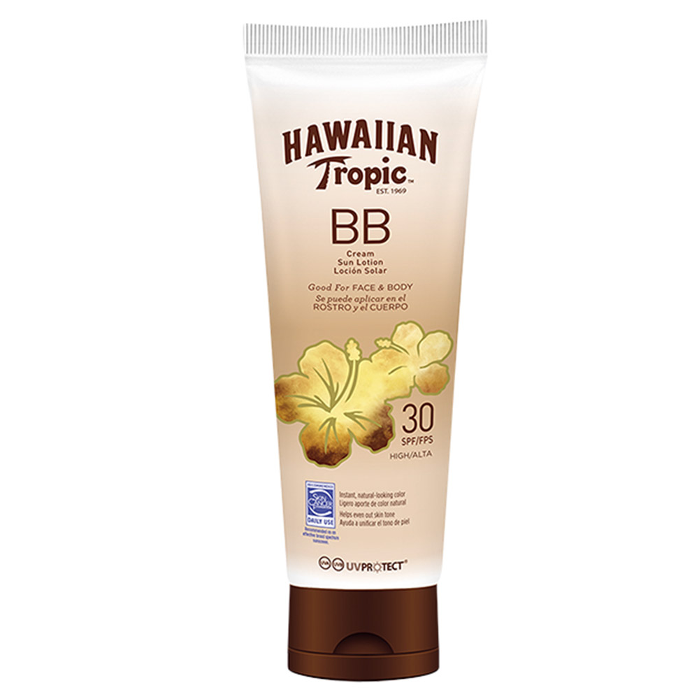 Bb cream face & body sun loción spf30