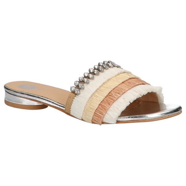Sandalia piel mujer - beige