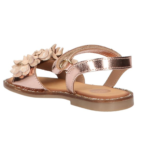 Sandalia piel infantil - rosa