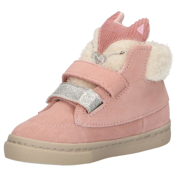 Botín piel infantil - rosa