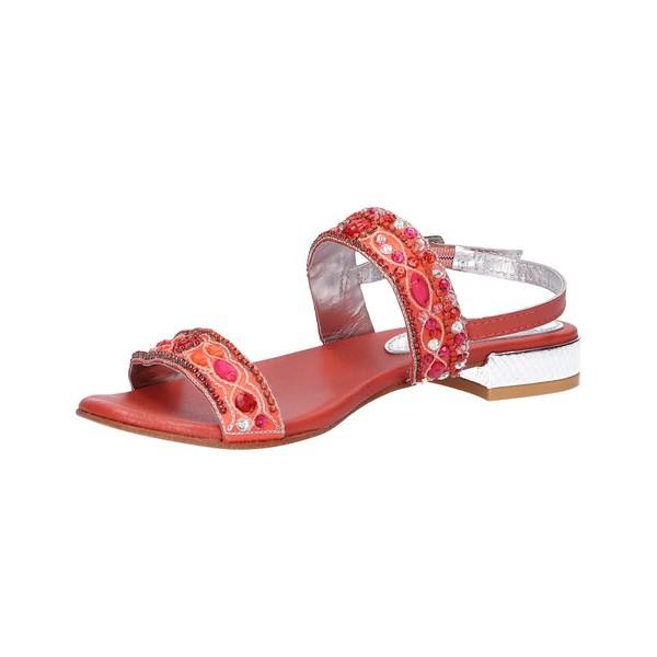 Sandalia mujer - rojo
