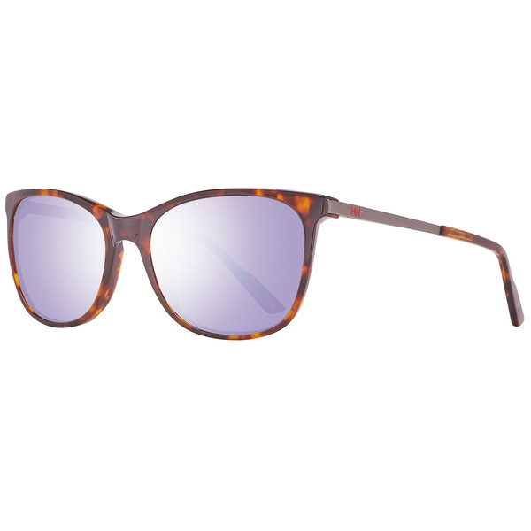 Gafas de sol mujer cal.55 metal-plástico - marrón