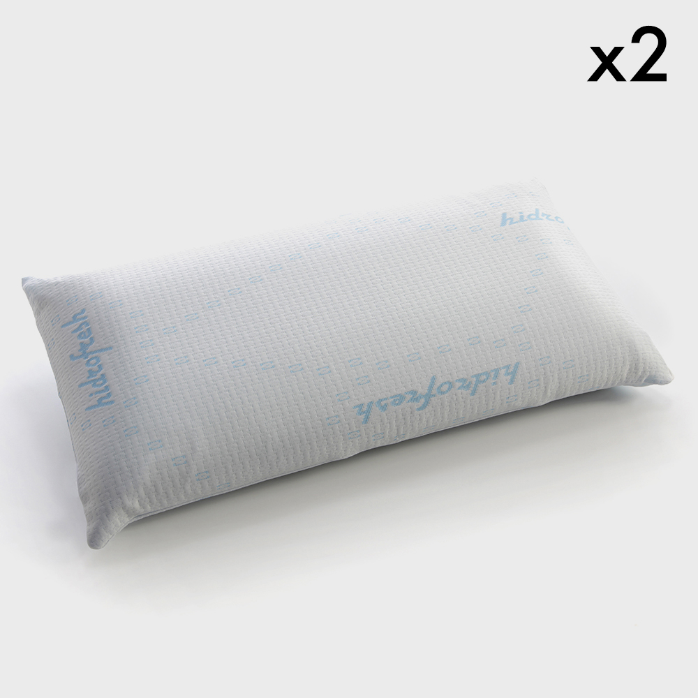 Pack 2 almohadas visco fresh