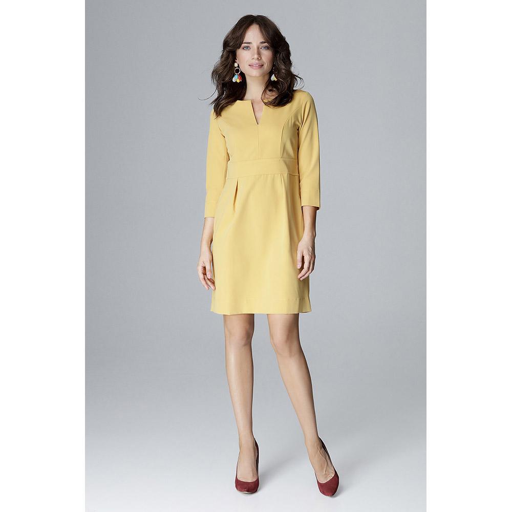 Vestido mujer - amarillo