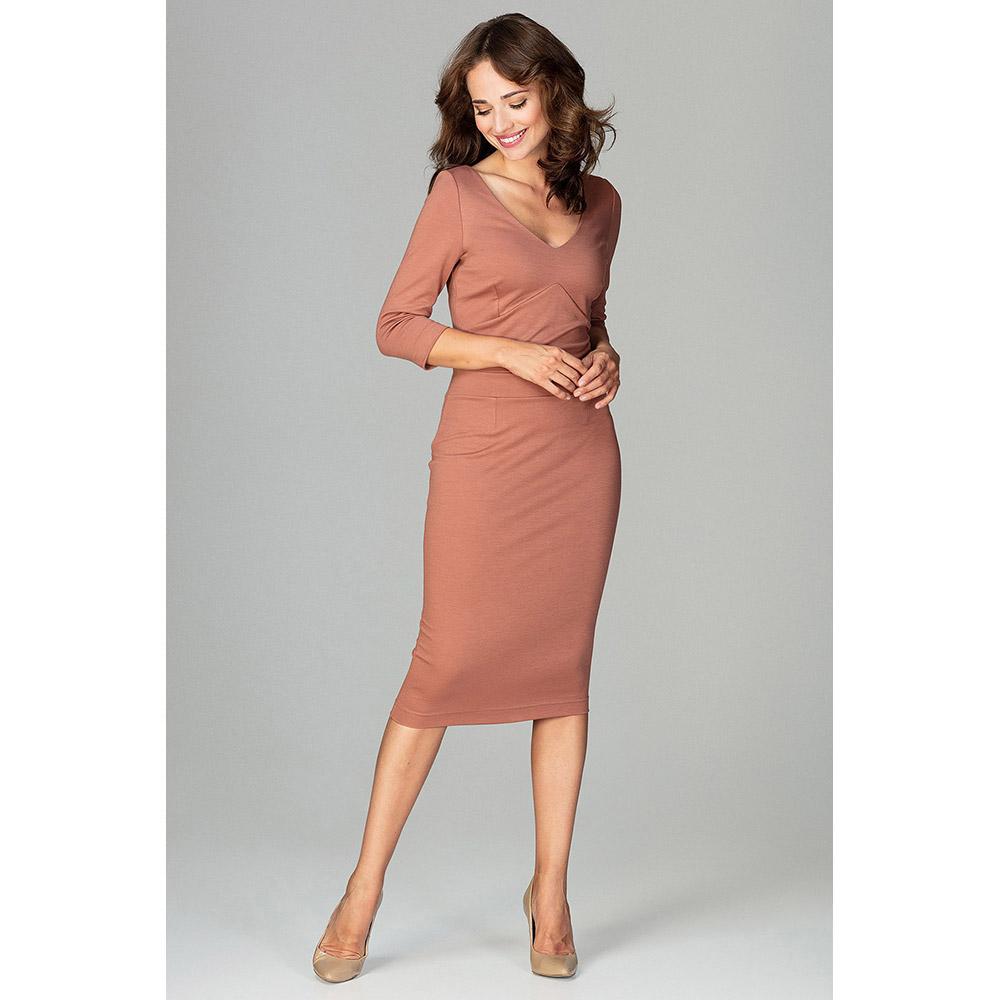 Vestido mujer - marrón