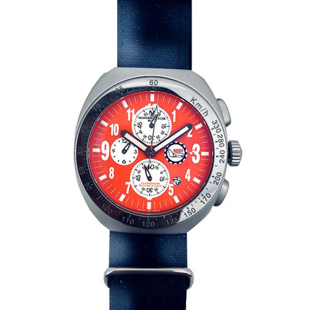 Reloj cronógrafo hombre - negro